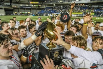 Camas claims state football championship