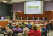 Councilors pass county budget with split vote