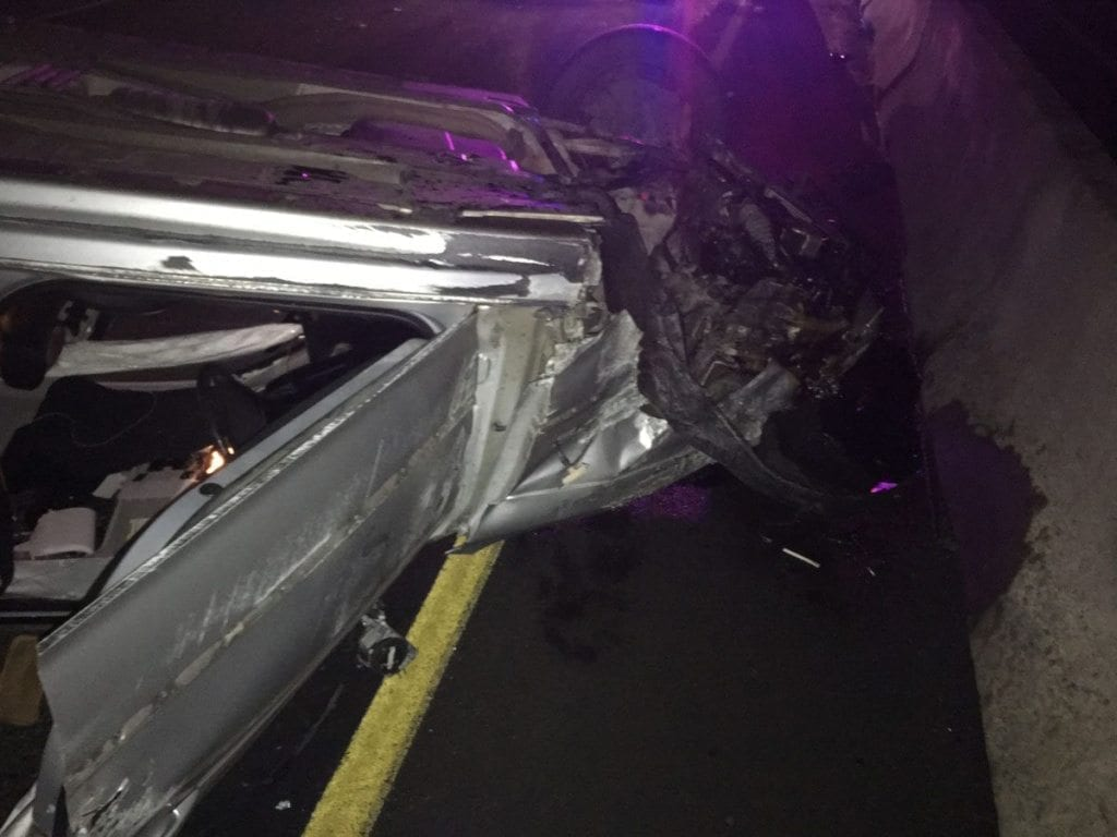 Clark County Sheriff's Office investigates Christmas Eve rollover collision