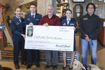 Prairie High School Air Force JROTC cadets help raise money for NW Battle Buddies