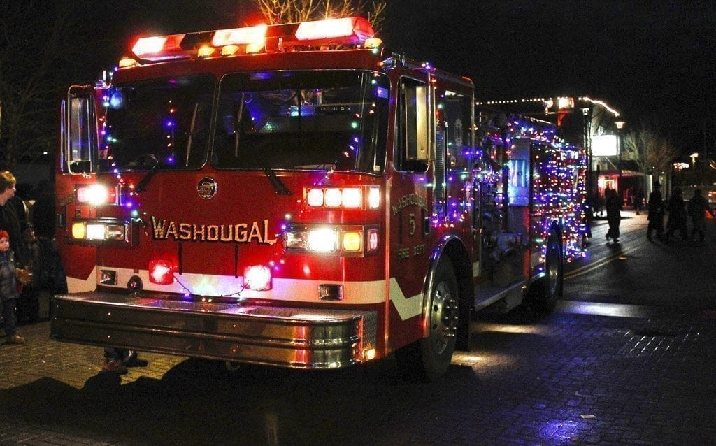 Washougal Christmas parade
