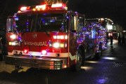 Washougal's annual Christmas parade lights up the night