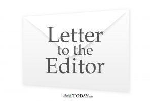 Letter to the editor clarkcountytoday.com