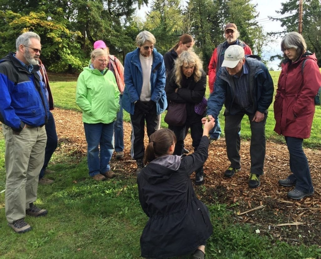 Columbia Springs offers several volunteer opportunities for nature lovers