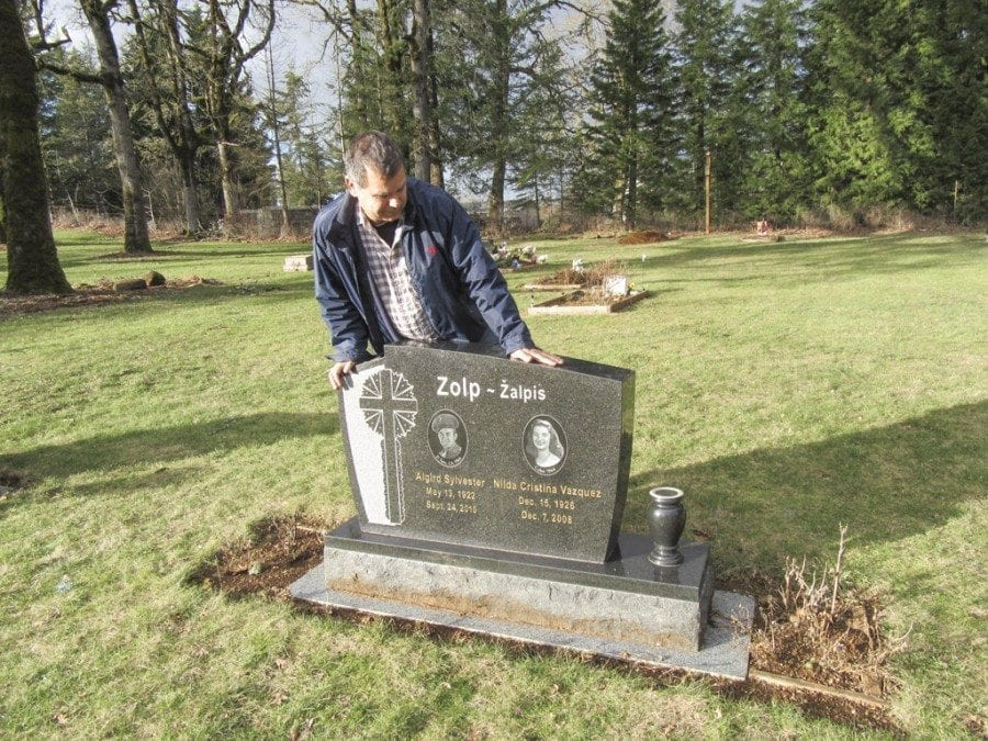 Area resident works for the city of Vancouver at Park Hill Cemetery and also part-time as a commissioner and the sexton of Fern Prairie Cemetery