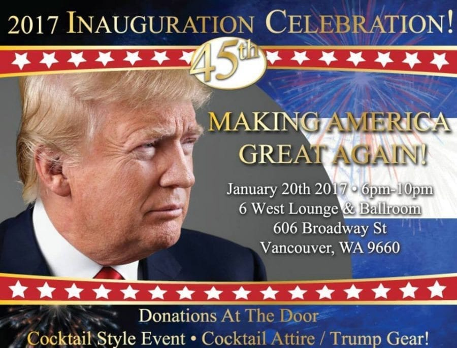 Clark County Republican Party to hold Inauguration Celebration
