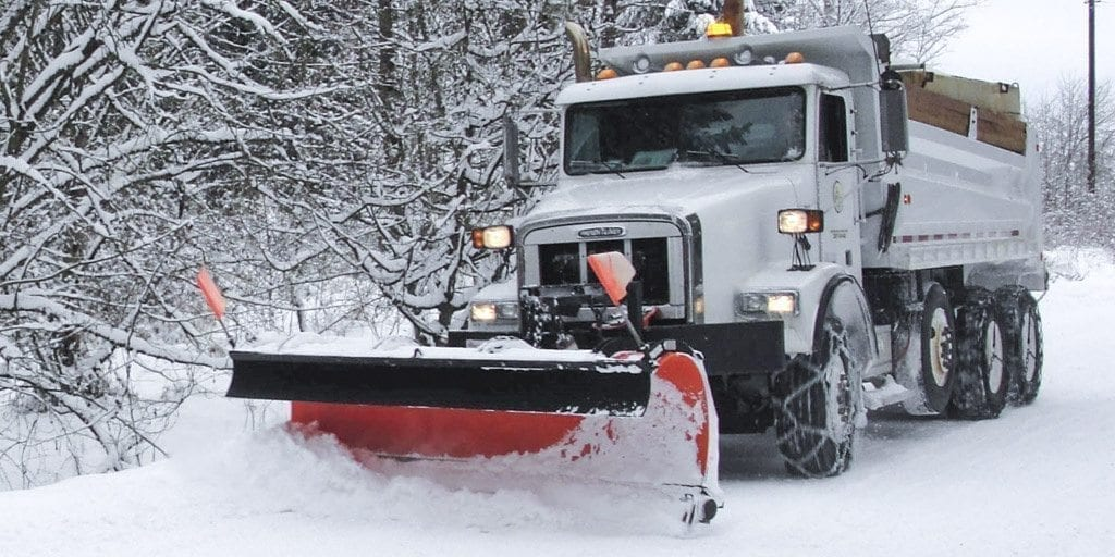 With Saturday's forecast calling for snow followed by freezing rain, Clark County road crews were busy Friday spraying anti-icer on thoroughfares in preparation for the storm