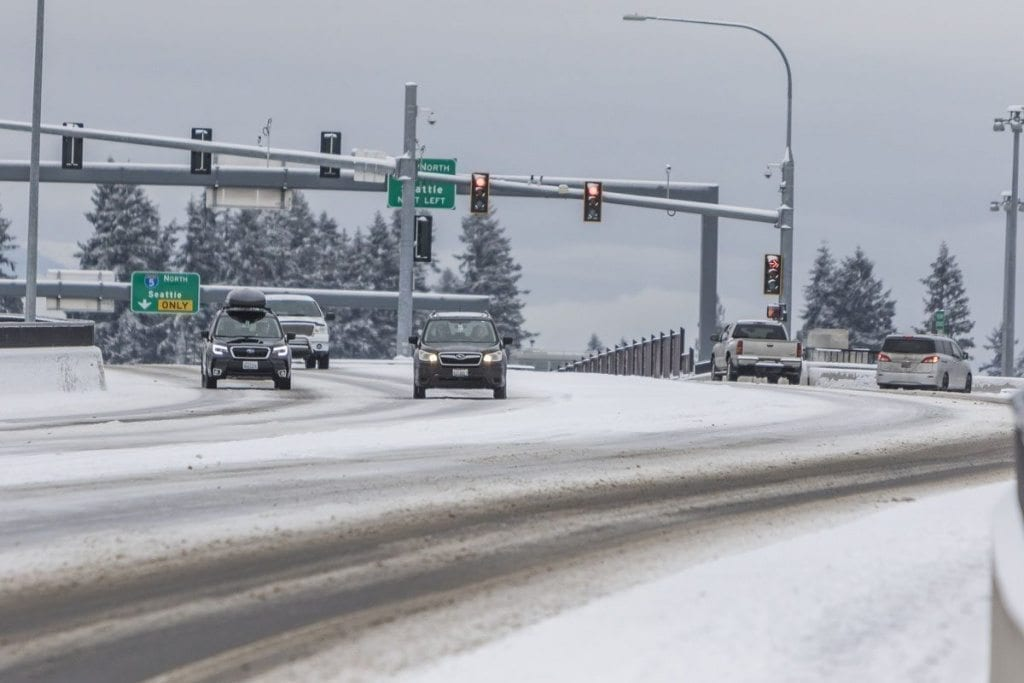 National Weather Service, winter weather advisory, snow accumulation, Clark County