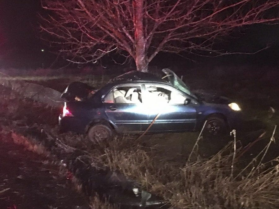 During the early morning hours of Mon., Feb. 6, at approximately 2:15 a.m., Clark County Sheriff's Office deputies and EMS, along with personnel from Clark County Fire District 3, responded to a single-vehicle, single-occupant traffic collision in the area of 14306 NE 144th St., in Brush Prairie.