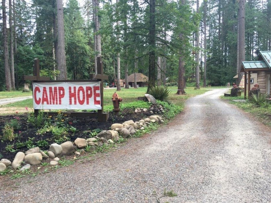 Camp Hope, an educational youth camp located across the river from Lewisville Park in the Battle Ground area, will soon begin offering the day camp, starting on March 18. Photo from Camp Hope website