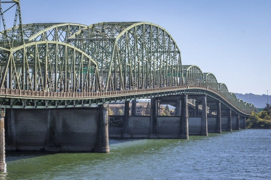 Washington lawmakers continue to address bills addressing Clark County's transportation congestion. On Monday, state senators passed Senate Bill 5806 by a 45-4 floor vote. The bill would make replacing the I-5 bridge a priority. Photo by Mike Schultz