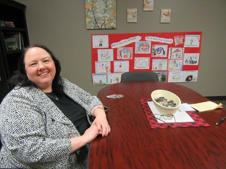 Woodland Primary School Principal Ingrid Colvard is in her first year at the school, but she's already making an impact in the lives of the school's children.