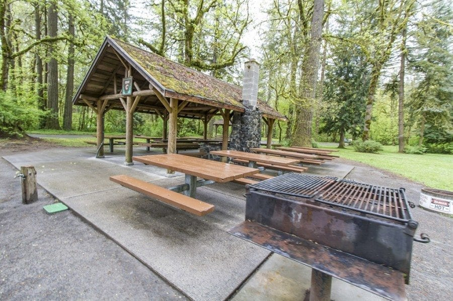 Reservation fees at most picnic shelters will increase by $25 on March 1. Fees will increase by $50 for shelters seating more than 100 people at Frenchman's Bar, Lewisville (shown here) and Vancouver Lake regional parks. Photo by Mike Schultz