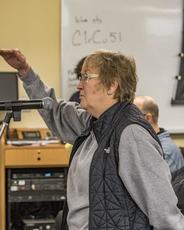 Reps. Liz Pike and Vicki Kraft held a Transportation Solutions Legislative Town Hall Saturday morning at Clark College's east campus. A standing room only crowd heard from transportation experts and also had a chance to share their thoughts with the lawmakers.
