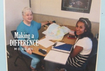 Making a difference: Susan Colby and John Forney