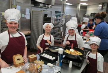 Students make healthy comfort foods for 2017 Future Chefs Challenge