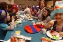 Ridgefield first graders celebrate Dr. Seuss' birthday with a 'Green Eggs and Ham' breakfast