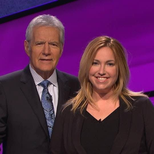 """Anne Marggraf, a 39-year-old Vancouver resident and recent graduate of Washington State University Vancouver, participated in three episodes of the TV game show """"Jeopardy,"""" bringing home $51,000 in winnings."""