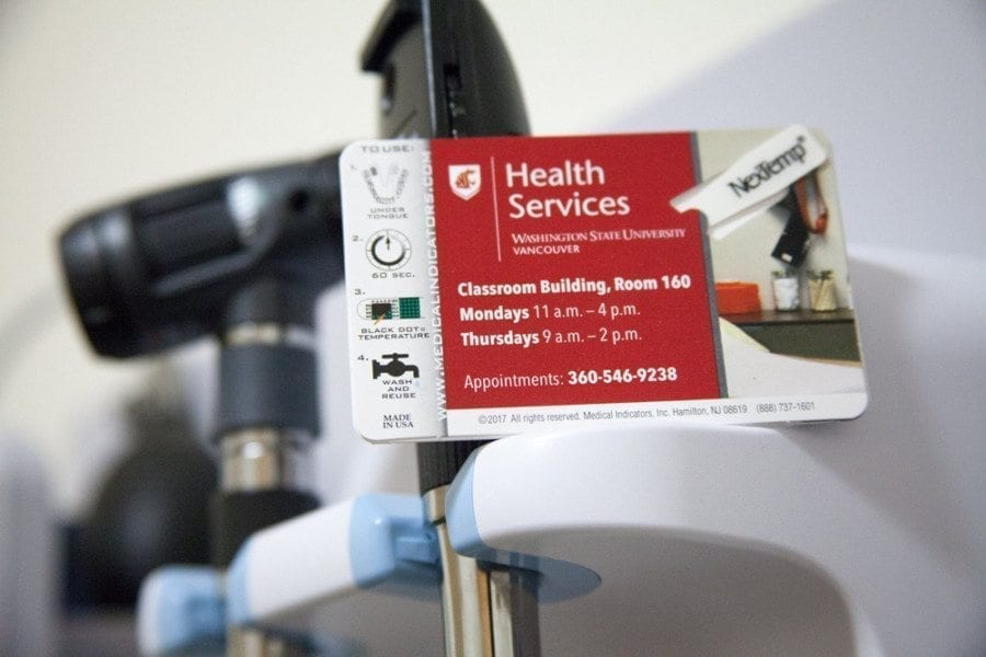A new Health Services clinic on the Washington State University Vancouver campus will officially open on Mon., March 20, and will offer basic health care services at no cost to enrolled WSUV students. Photo from WSU Vancouver Facebook page
