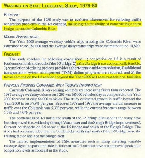 Traffic congestion: Take a look at what the I-205 bridge did