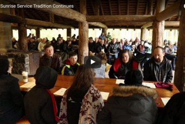 Easter Sunrise Service tradition continues