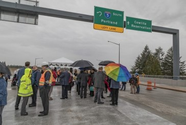 Cowlitz Tribe holds event to celebrate opening of I-5 interchange