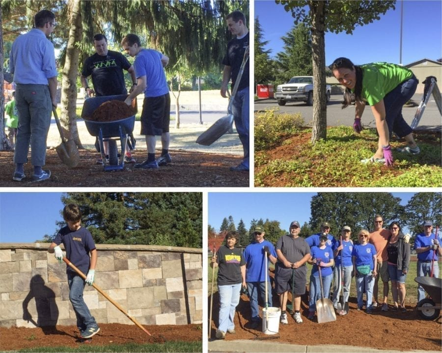 Area residents are invited to join Battle Ground leaders in celebrating their community's parks the morning of Sat., April 22 at the 5th Annual Park Appreciation Day work party; it is their way to celebrate Earth Day at the local level. Photo courtesy of city of Battle Ground
