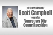 Business leader Scott Campbell to run for Vancouver City Council position