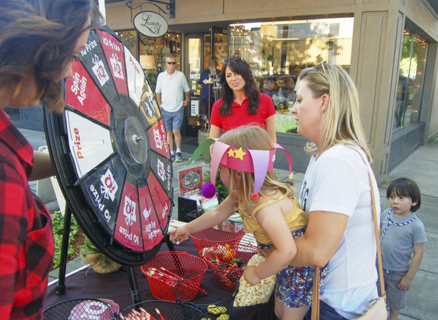 The 12th annual First Friday Camas Poker Tour & Game Night returns to Downtown Camas on Fri., June 2, from 5-8 p.m. Participants are shown here at last year's event. Photo courtesy of Downtown Camas Association