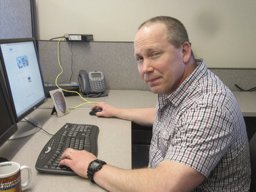 Vancouver Police Detective Rob Givens has been with the Vancouver Police Department since 2003, and with the Digital Evidence Cybercrime Unit DECU) since 2014. Photo courtesy of Carolyn Schultz-Rathbun