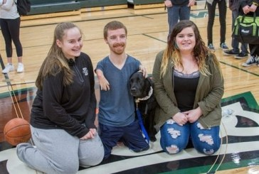 Motivational speaker shares his inspirational story and message to students in Woodland Public Schools