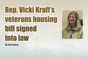 Rep. Vicki Kraft's veterans housing bill signed into law