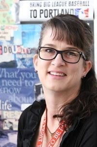 Chief Umtuch Middle School teacher Beth Doughty was named Washington's 2017 History Teacher of the Year.
