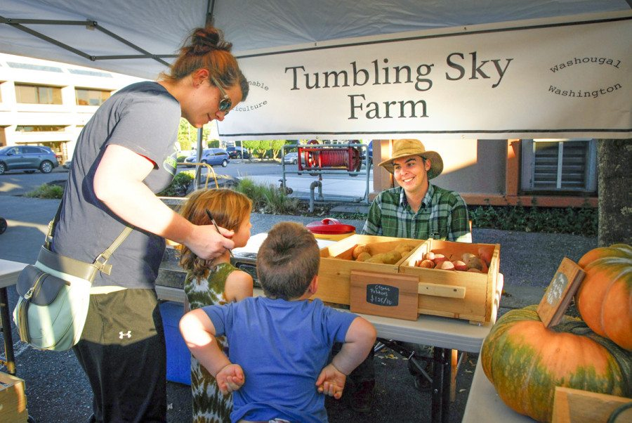 The Camas Farmers Market opens for the summer today, Wed., June 7. The Market will be open each Wednesday through Oct. 4 from 3-7 p.m. Photo courtesy of Camas Farmers Market