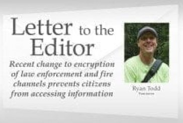 Recent change to encryption of law enforcement and fire channels prevents citizens from accessing information