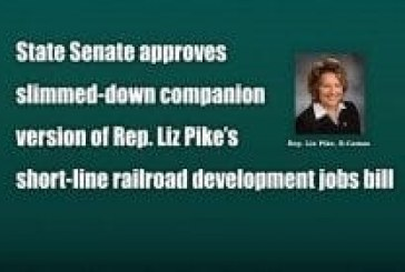 State Senate approves slimmed-down companion version of Rep. Liz Pike's short-line railroad development jobs bill