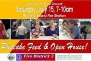 Firefighters to serve up breakfast at Battle Ground's second annual Pancake Breakfast and Open House