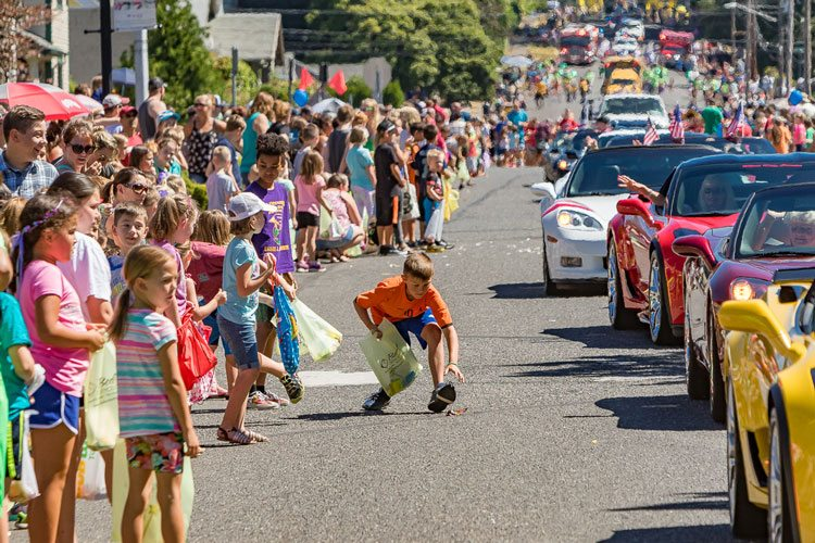 Residents and visitors flocked to downtown Camas Friday and Saturday for the 2017 Camas Days celebration. Saturday's events included the annual parade. Photo by Mike Schultz