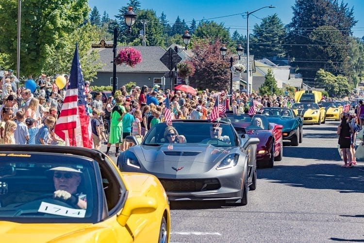 More than a few eye-popping vehicles were just a few of the attractions featured in the 2017 Camas Days parade Saturday. Photo by Mike Schultz