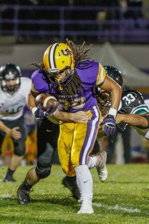 Hunter Pearson had five 100-yard rushing games last season for Columbia River. His coach said he was a better person than football player. Pearson died in May.