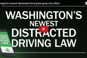 Washington's newest distracted driving law goes into effect