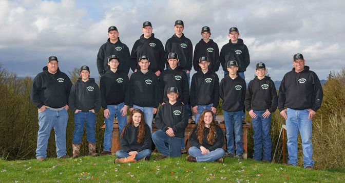 Started in 2012, Woodland High School's trapshooting team (pictured here) and the equestrian team provide students with varying interests ways to represent their school and show their pride. Photo courtesy of Ben Musgrove