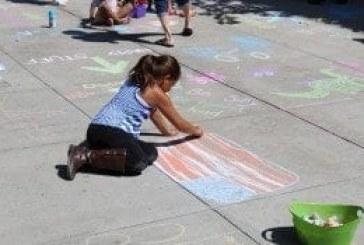 Chalk the Walks event spreads joy through chalk art