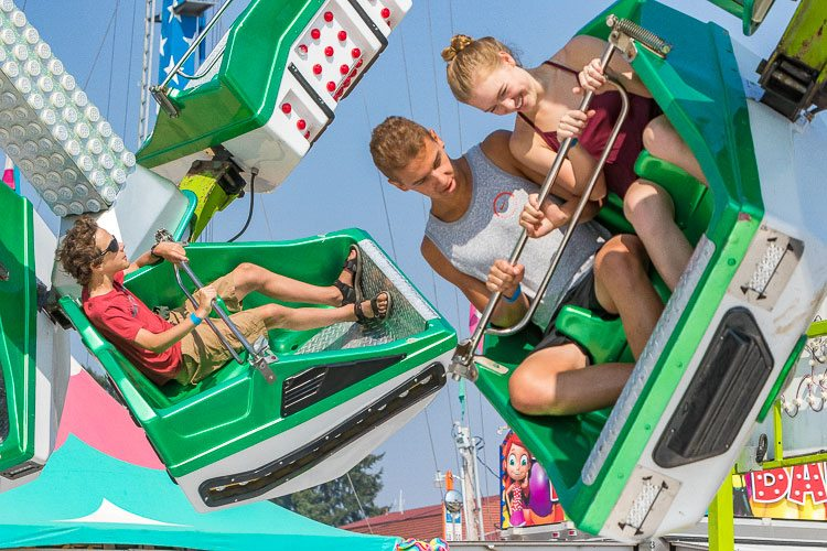 The 2017 Clark County Fair got underway Friday. The annual event will continue through Sun., Aug. 13. Photo by Mike Schultz