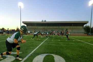 High school football teams hit the field for start of fall practice