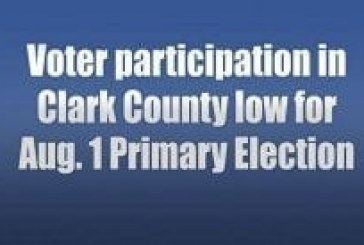 Voter participation in Clark County low for Aug. 1 Primary Election