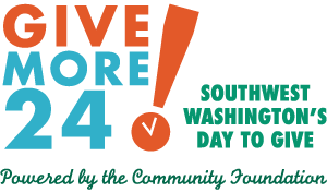 Southwest Washington's fourth annual day of online giving is planned for Thu., Sept. 21. The event, called Give More 24! runs from midnight to midnight and encourages local residents to donate online at give-more-24.org.