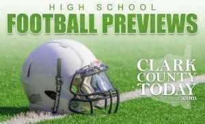 ClarkCountyToday.com reporter Paul Valencia previews all 18 of Clark County's high school football teams this week with the assistance of photographer/videographer Mike Schultz. On Tuesday, we begin the series with a look at the Class 4A Greater St. Helens League teams. Checkback in coming days for the previews of Class 3A and 2A GSHL and Class 1A Trico League teams as we prepare you for the 2017 high school football season.