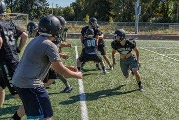 Woodland's Wyatt Harsh and Tyler Flanagan look forward to final high school football season together