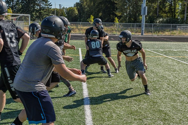 Woodland finished in a three-way tie for second place in the Class 2A Greater St. Helens League last season but lost a tiebreaker for a playoff berth. In 2017, the Beavers hope to do even better. Photo by Mike Schultz